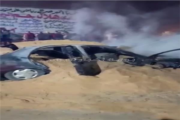 انقاذ قرية بمركز السنطة من كارثة محققة