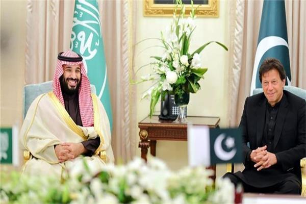 عمران خان ومحمد بن سلمان