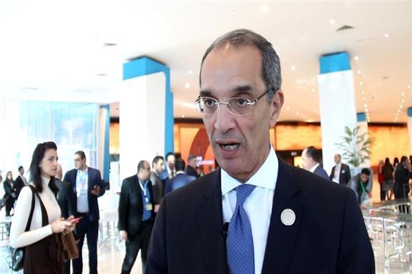 وزير الاتصالات وتكنولوجيا المعلومات د. عمرو طلعت
