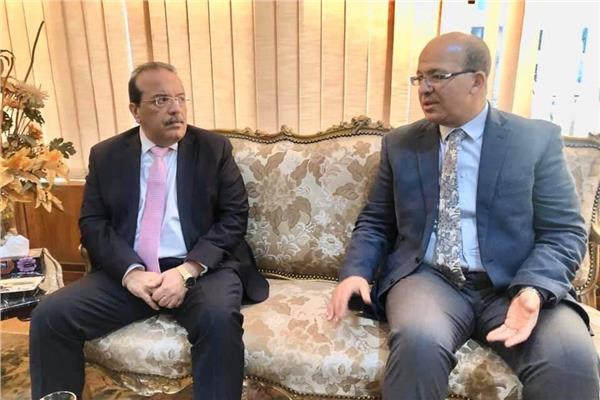 الدكتور إبراهيم فتحي معوض مدير مركز الخدمات المعرفية بالمجلس الأعلى للجامعات