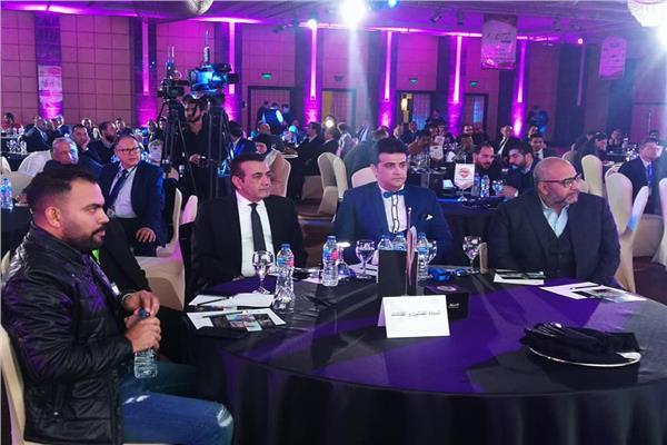 بيومي فؤاد و خالد عليش يحضرون مؤتمر رابطة تجار السيارات مصر الرابع