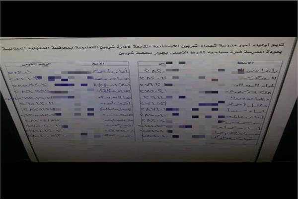 أولياء أمور يطالبون بعودة أبنائهم لمدرسته