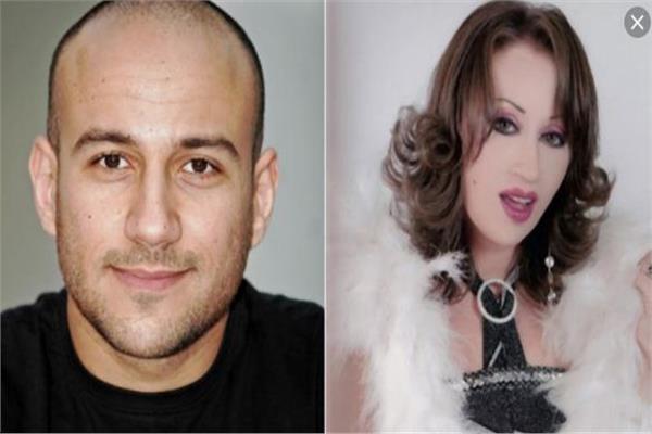 إيناس مكي مع أخيها أحمد مكي