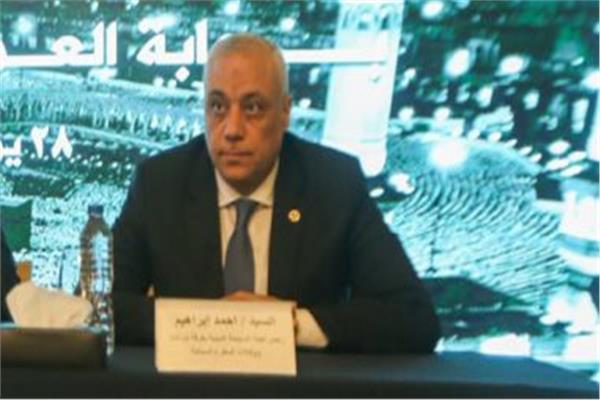 احمد ابراهيم رئيس لجنة السياحة الدينية بغرفة شركات السياحة