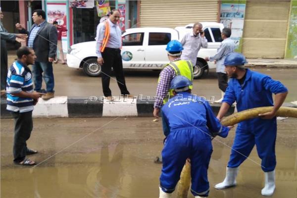 أمطار غزيرة على جميع مدن الشرقية