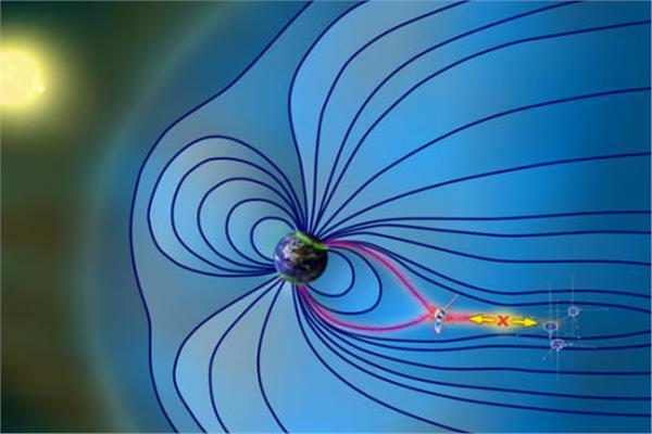 الانفجار المغناطيسي القريب من الأرض