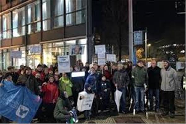 احتجاجات الجاليات العربية في برلين