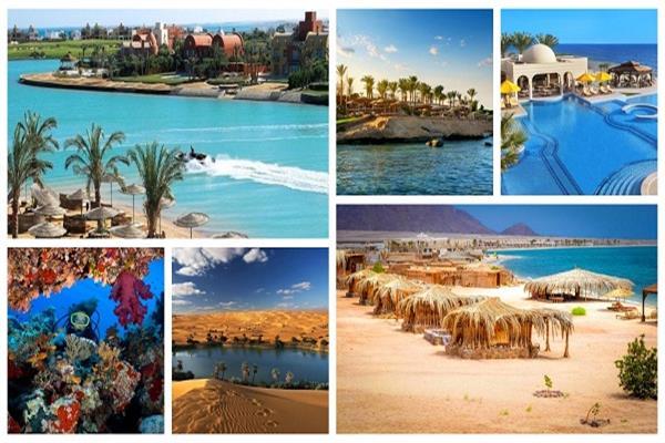 مقاصد سياحية مصرية