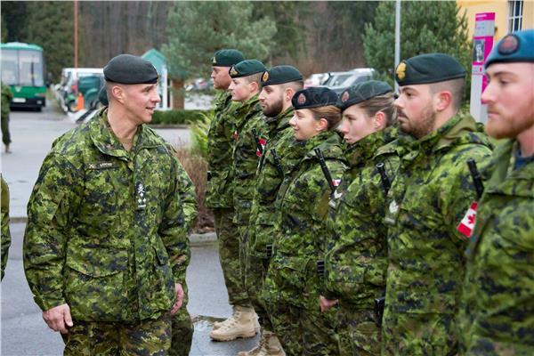 القوات المسلحة الكندية