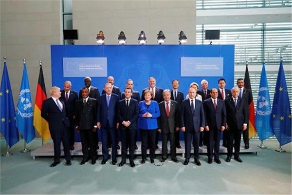 زعماء مؤتمر برلين