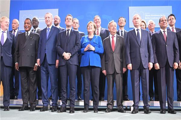 المشاركون في مؤتمر برلين