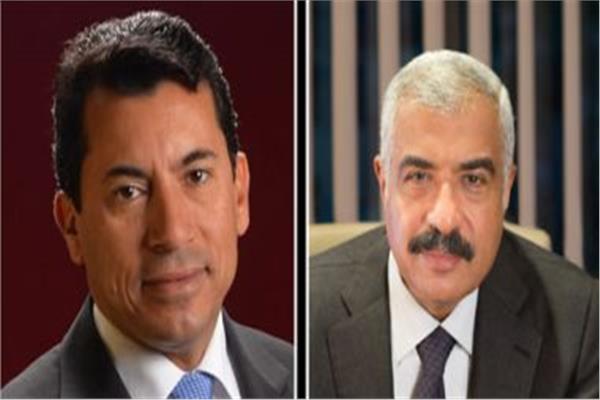 د. أشرف صبحي - وهشام طلعت مصطفى