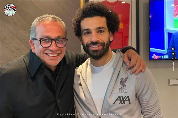 اجتماع عمرو الجنايني مع محمد صلاح
