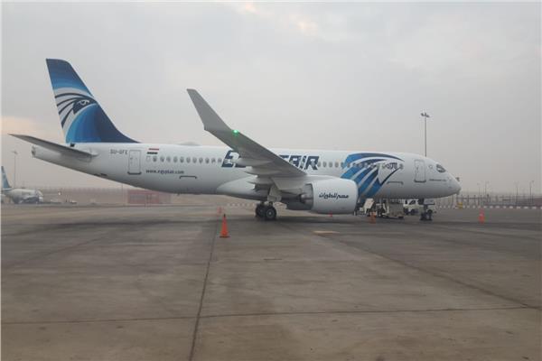 مصر للطيران الناقل الوطني لجمهورية مصر العربية