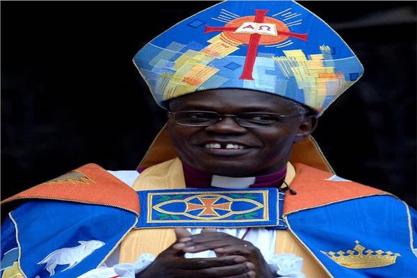 اللورد جون سنتامو رئيس أساقفة الكنيسة الأسقفية