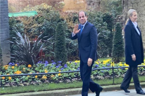 الرئيس السيسي في لندن