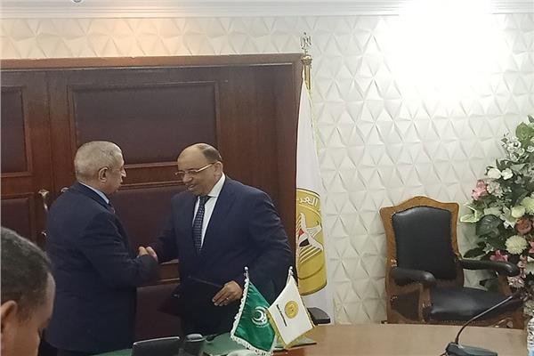 برتوكول تعاون بين التنمية المحلية والأكاديمية العربية للنقل البحري