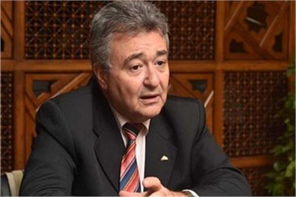 المهندس عمرو صدقى رئيس لجنة السياحة والطيران بالبرلمان