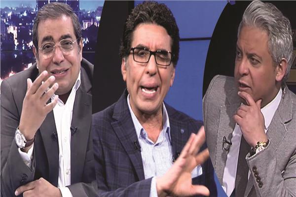 الإرهابيون معتز مطر ومحمد ناصر وحمزة زوبع