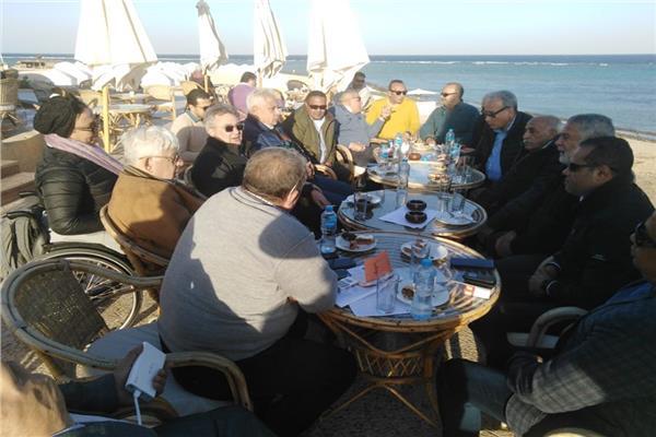 سياحة البرلمان تنهي زيارة مرسى علم
