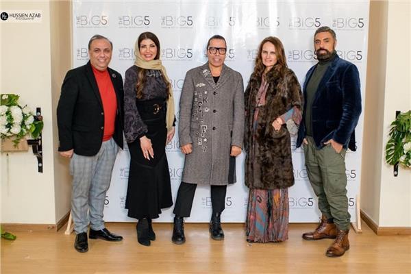 صور .. نجوم الموضة يطلقون فعاليات مسابقة The Big 5