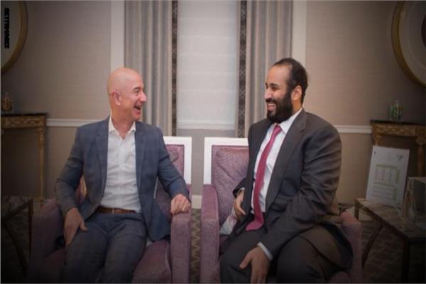 الأمير محمد بن سلمان و جيف بيزوس