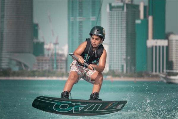 الطفل الإماراتي أحمد سعيد