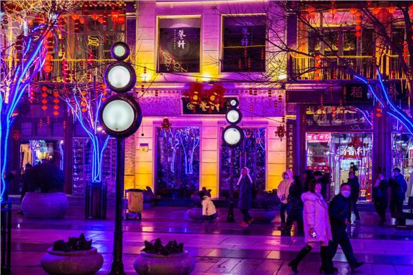 الصين تحتفل برأس السنة