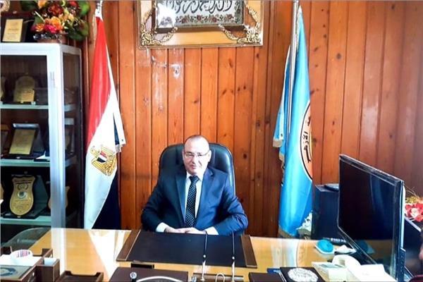 الدكتور مصطفى شتات عميد الكلية