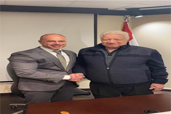 الأستاذ تامر مرسى والمستشار مرتضي منصور