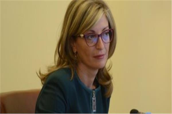 وزيرة خارجية بلغاريا إيكاترينا زاخارييفا