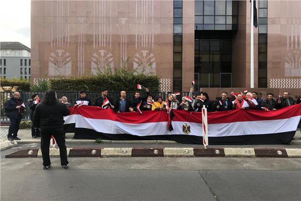 الجالية المصرية في برلين تحتفل بعيد الشرطة