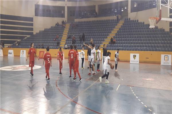 سلة مصر بنات تفوز على الجزائر في منافسات السلة الأفريقية للأولمبياد الخاص