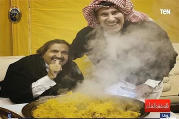 حمد بن خليفة وحمد بن جاسم