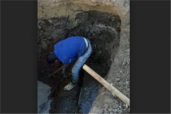إعادة تشغيل المياه لمدينة سوهاج بعد إصلاح خط مياه ميدان الثقافة
