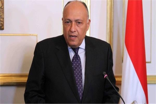 وزير الخارجية السفير سامح شكري