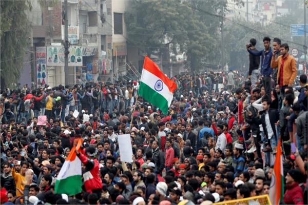 احتجاجات في الهند (صورة أرشيفية)
