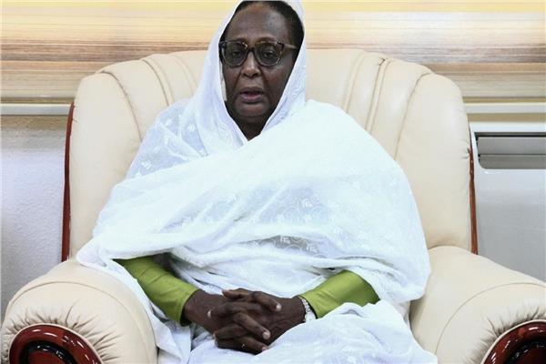 أسماء محمد عبدالله وزيرة الخارجية السودانية
