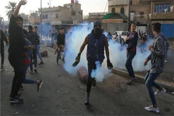 مقتل أحد المحتجين في بغداد في اشتباكات مع قوات الأمن