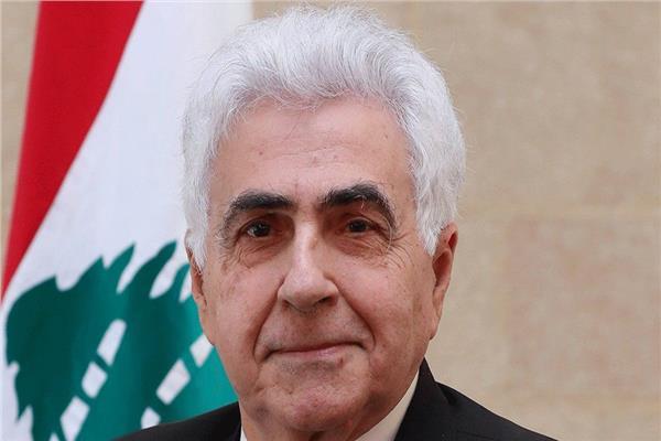 ناصيف حتى وزير الخارجية اللبناني