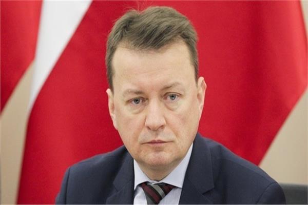 ماريوس بلاشزاك وزير الدفاع البولندي