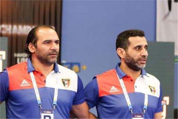 الكابتن حسين زكي مدرب المنتخب المصري لكرة اليد