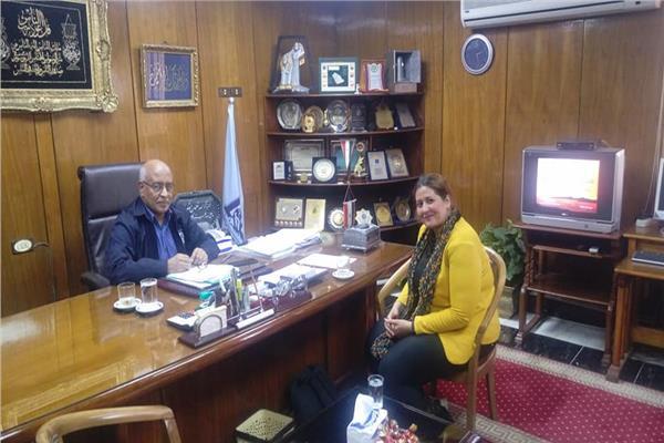 رئيس شركة مصر للألومنيوم المهندس محمود سالم