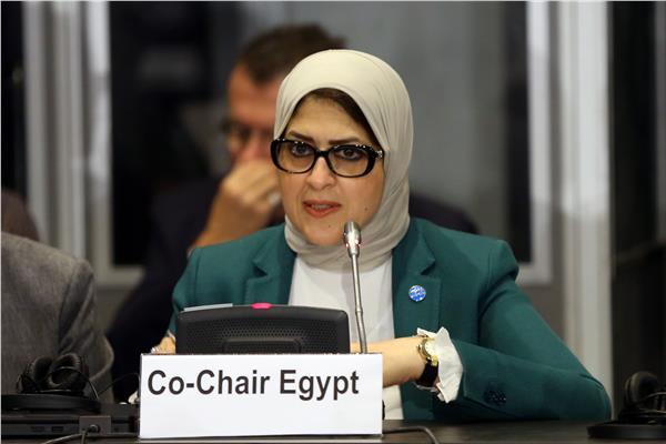 وزيرة الصحة الدكتوره هالة زايد