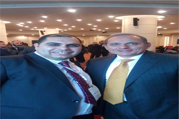 هشام عكاشة ومحرر بوابة أخبار اليوم