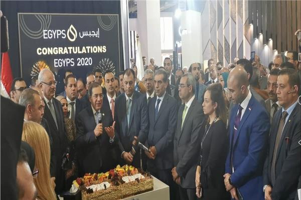 """وزير البترول  بمعرض مصر الدولى للبترول """"إيجبس 2020"""""""