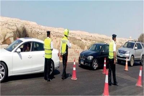 حملات مرورية لرصد المخالفين ومتعاطي المواد المخدرة على الطرق