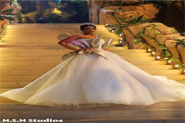 مروة الازلي «عروس الغابة» أزياء محمد نور