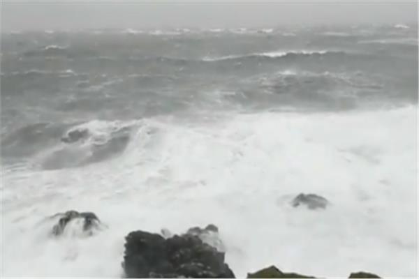 صورة من الأمواج