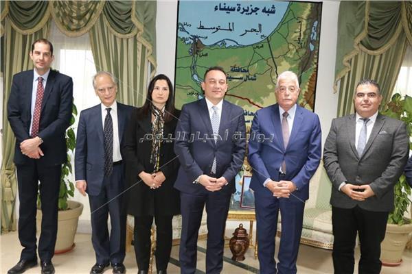 يشيد بالامن والامان وجهود الدولة في تنمية جنوب سيناء والترويج السياحي